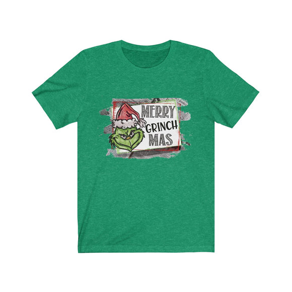 Merry Grinch Mas Short Sleeve Tee