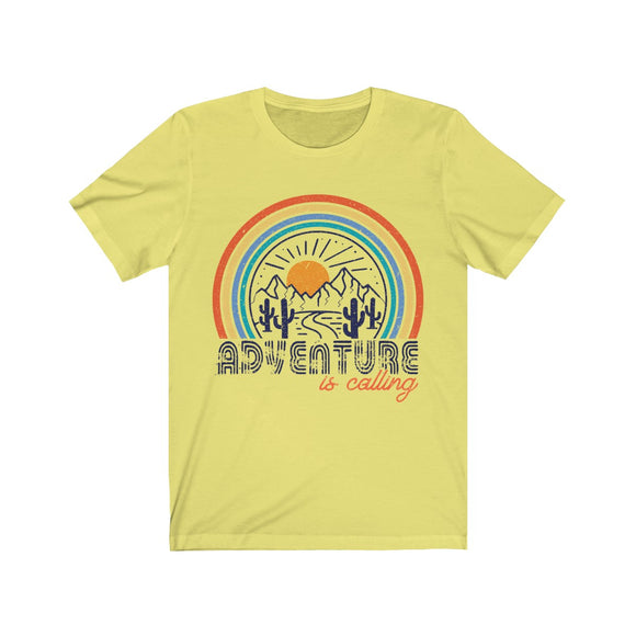 Adventure is Calling Cactus Short Sleeve Tee