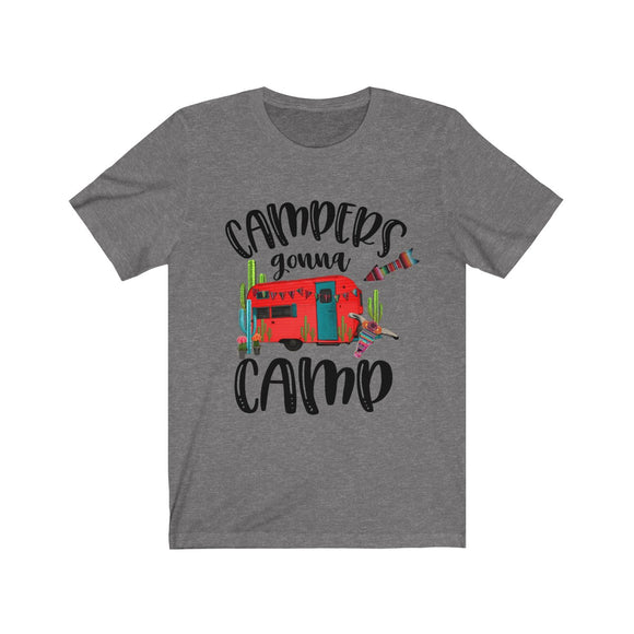 Camps Gonna Camp Short Sleeve Tee