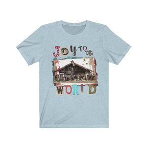 Joy to the World Short Sleeve Tee
