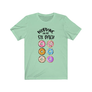 Six Pack Donuts Short Sleeve Tee