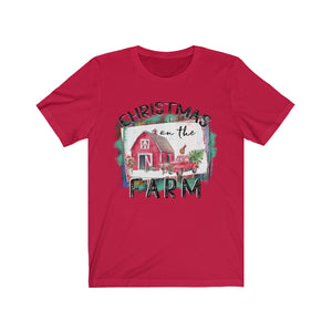 Christmas on the Farm Short Sleeve Tee