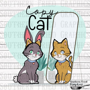 Copy Cat Digital Graphic