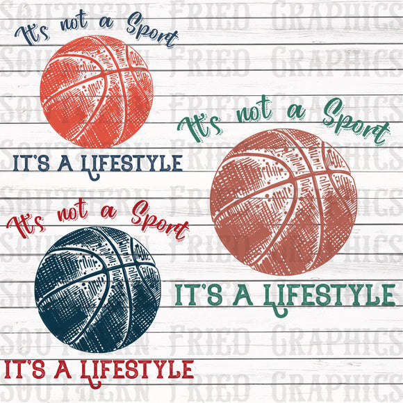 Basketball Lifestyle Graphic Set