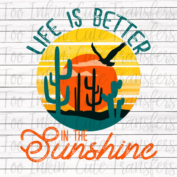 Life is Better in the Sunshine Transfer