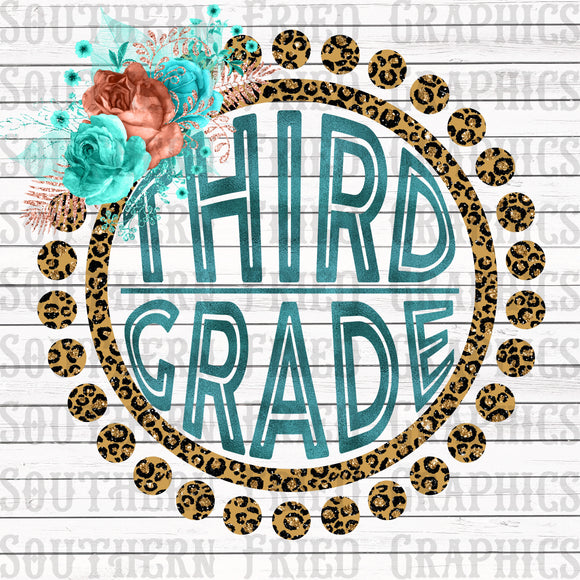 Leopard Third Grade Digital Graphic