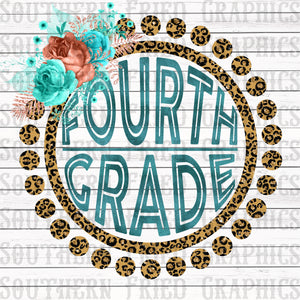 Leopard Fourth Grade Digital Graphic