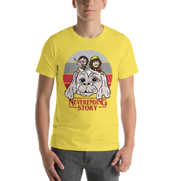 Stranger Things/Neverending Story Inspired Short-Sleeve Unisex T-Shirt