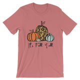 It's Fall Y'all Short-Sleeve Unisex T-Shirt
