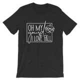 Oh my Gourd, I LOVE FALL Short-Sleeve Unisex T-Shirt