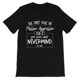 Passive Aggressive Club Short-Sleeve Unisex T-Shirt