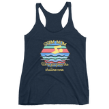 Swim Mom-Far from the Shallow Women's Racerback Tank