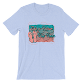 Life is Better in Flip Flops Short-Sleeve Unisex T-Shirt