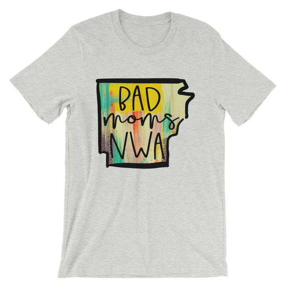 Bad Moms NWA Colorful Short-Sleeve Unisex T-Shirt