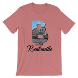 B is for Bentonville Short-Sleeve Unisex T-Shirt