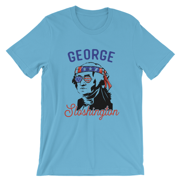 George Sloshington Short-Sleeve Unisex T-Shirt