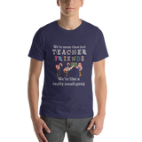 Teacher Friends Flamingo Short-Sleeve Unisex T-Shirt