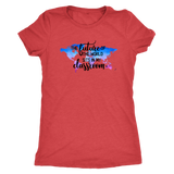 The Future of the World Sits in my Classroom Ladies Triblend Tee