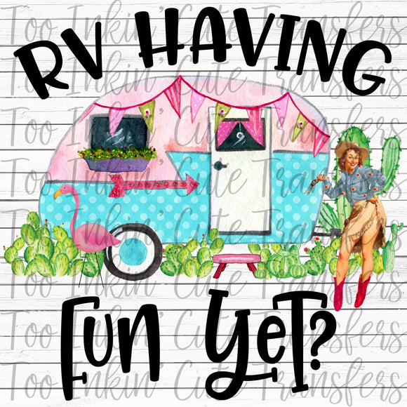 RV Having fun Yet Transfer