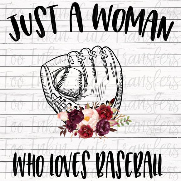 Just a Woman who loves Baseball Transfer