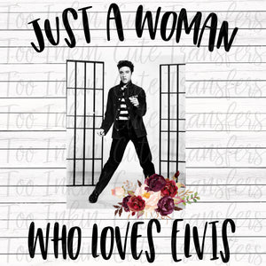 Just a Woman who loves Elvis Transfer