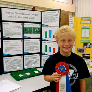"Science Fair Winner ""Confirms Proposed Effects"" of Polara Golf Balls"