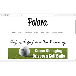 New Website for Polara Golf