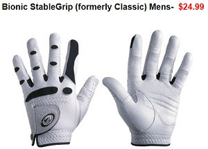 Polara Golf offers accessories - gloves