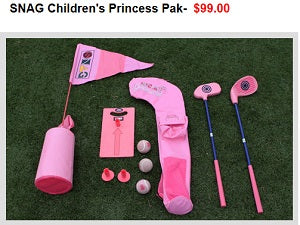 Polara Golf offers accessories - fun for the family