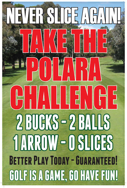 ATTN LOCAL GOLFERS: We DARE You to SLICE IT!