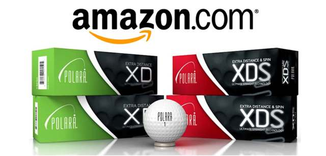 Polara among the highest rated golf balls on Amazon