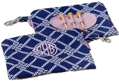 Monogrammed Pouch and Tee-Holder - BeSpoke ($34.00)