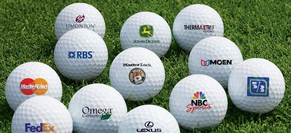 Custom Logo Golf Balls by Asius Technologies