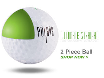 Ultimate Straight Golf Ball by Polara Golf