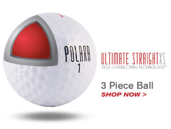 Ultimate Straight XS Golf Ball by Polara Golf