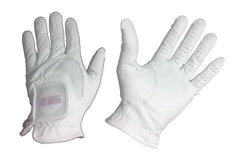 White Golf Gloves - Polara Golf