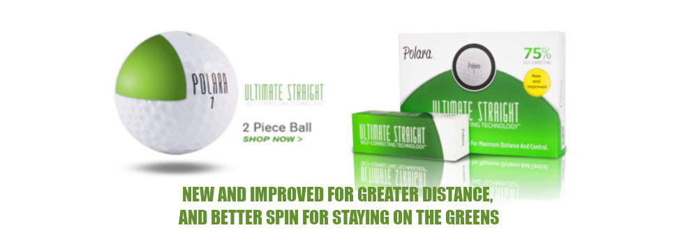 Polara Golf Ultimate Straight Golf Balls