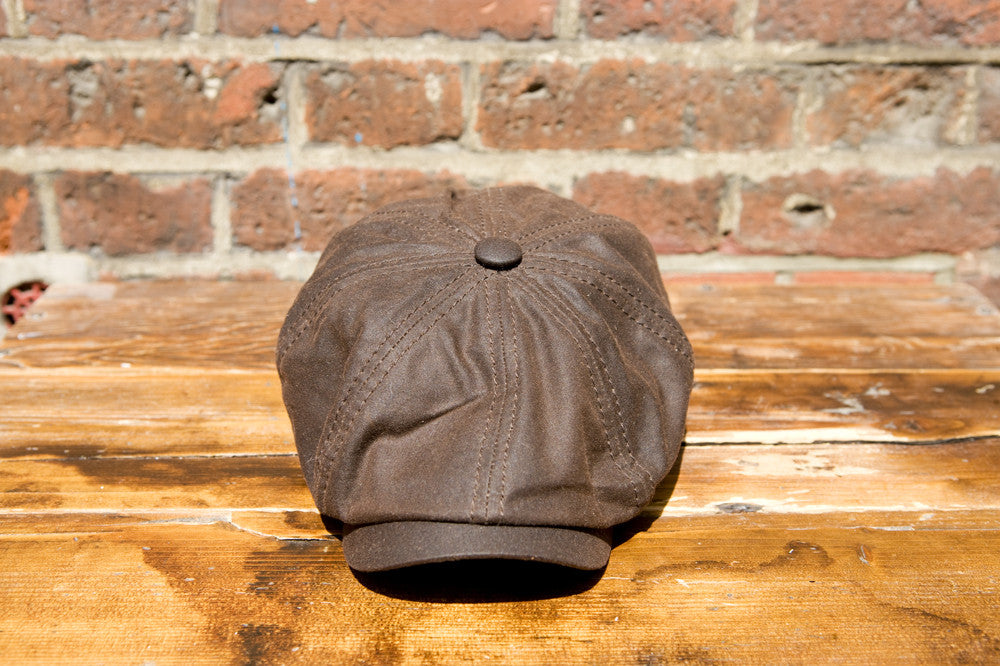 dc7a22f1892 Stetson Cap Hatteras Waxed Cotton Brown  62