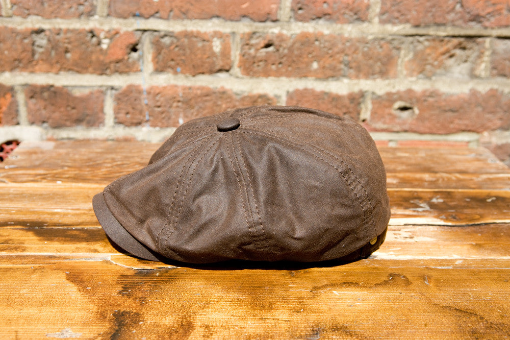 bef53aeda2d Stetson Cap Hatteras Waxed Cotton Brown  62