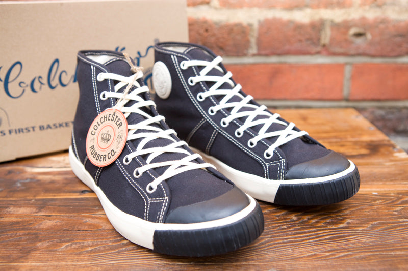 Colchester Rubber Co High Top Sneakers Black