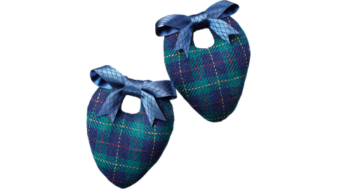 Wool Tartan Shoe Shapers