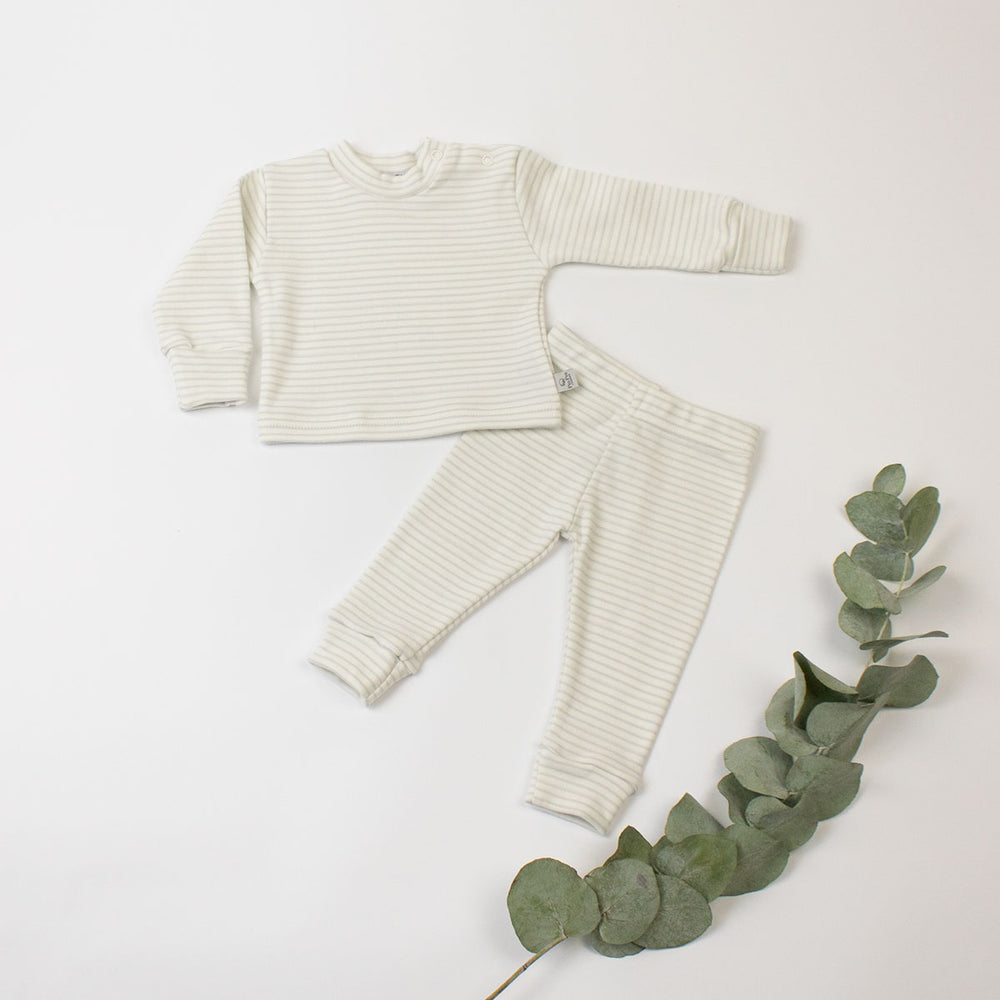 Organic Cotton T-shirt & Legging Set