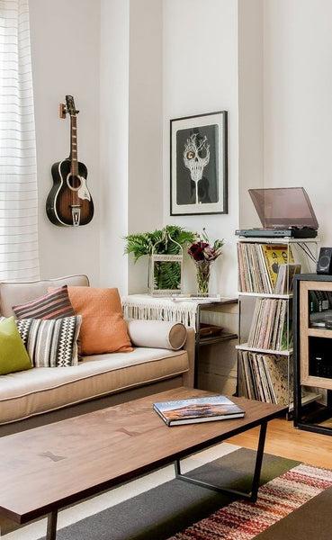 musical living area