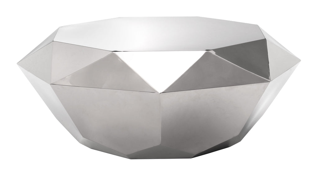 Gem Coffee Table Stainless Steel