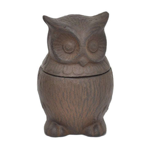 Cast Iron Owl, Brown