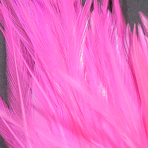 "Hareline Strung Chinese Saddle Hackle 5""-7"""