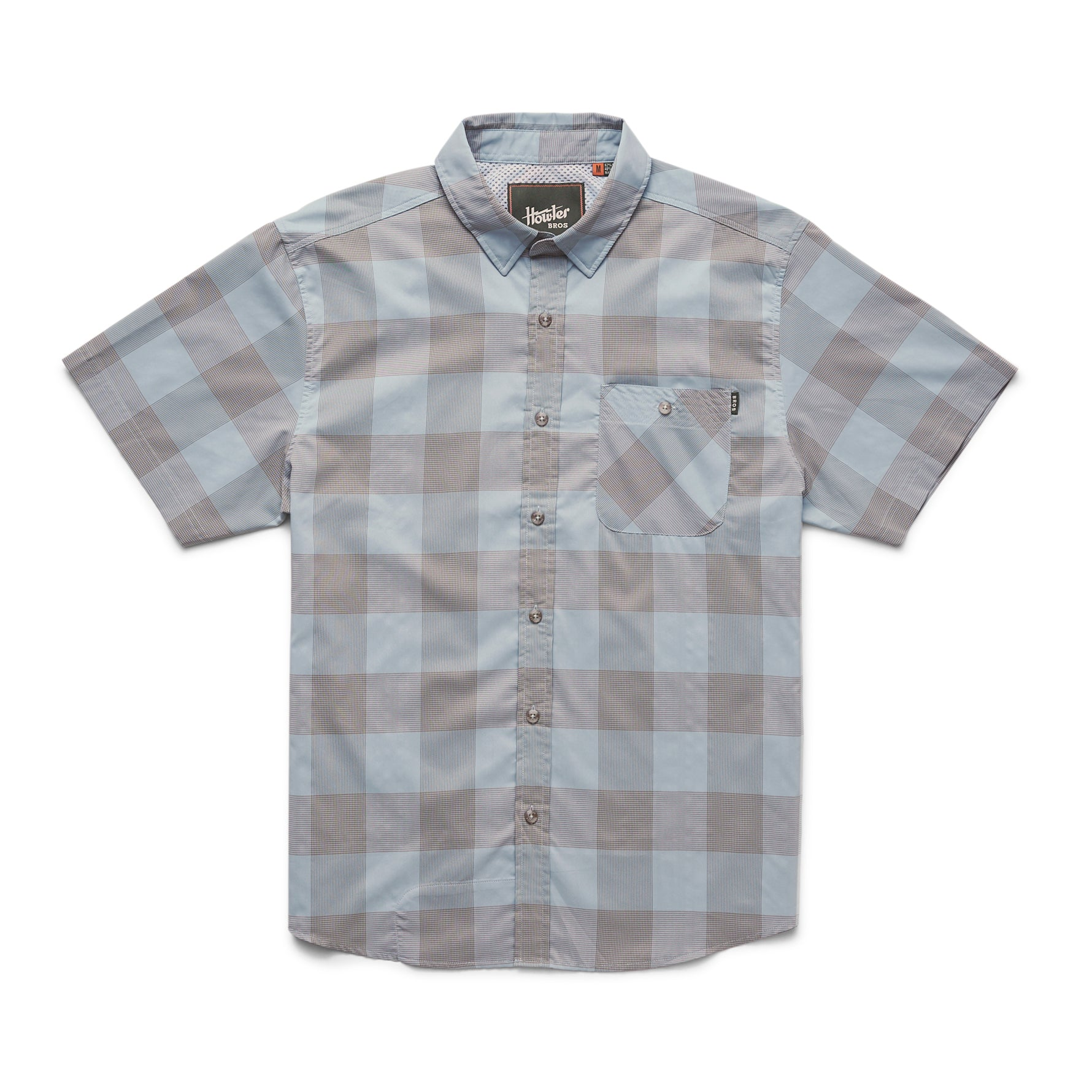 Howler Bros Airwave Shirt-Garcia Gingham