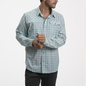 Howler Bros Matagorda Shirt-Thompson Plaid