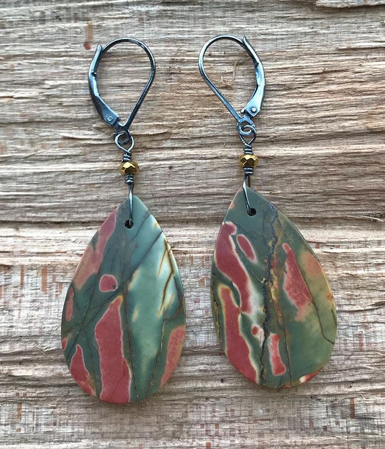 Pine Tree in the Canyon Earrings