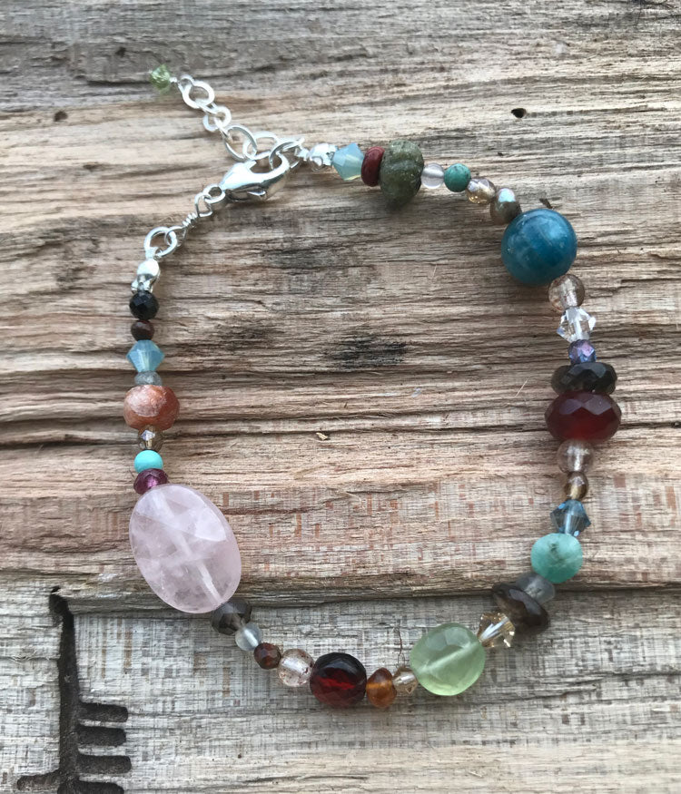 End of the Day Gemstone Bracelet